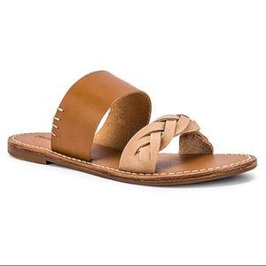 SOLUDOS NWTT Braided Sandals In Acorn